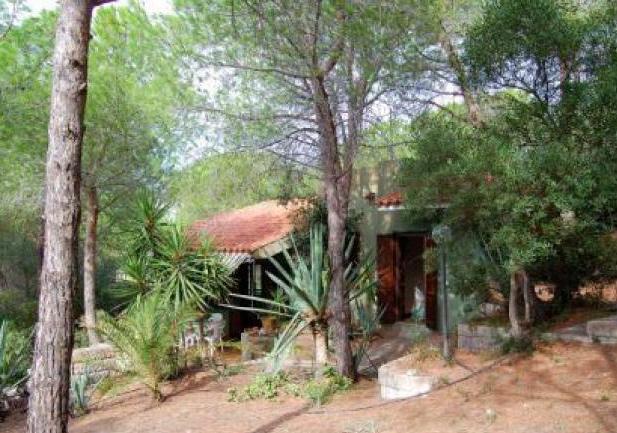 Sardinien Ferienhaus - Villa Pini 800 m von Strand + Meer